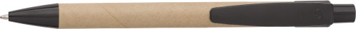Cardboard and wheat straw ballpen