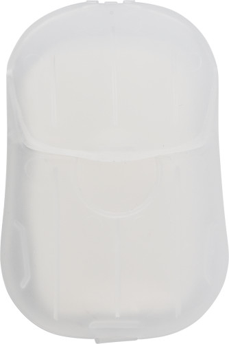 Plastfodral med tvålblad