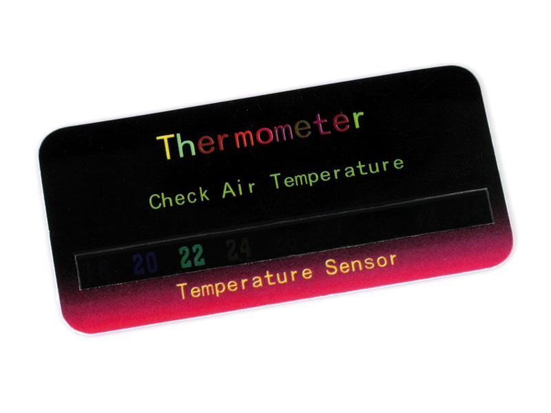 UV-kort Termometer