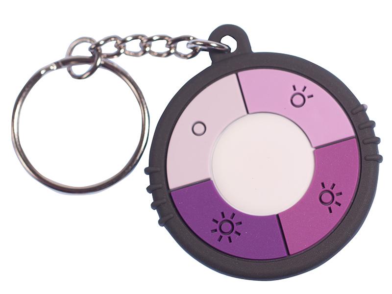 UV-nøkkelring (60 mm)