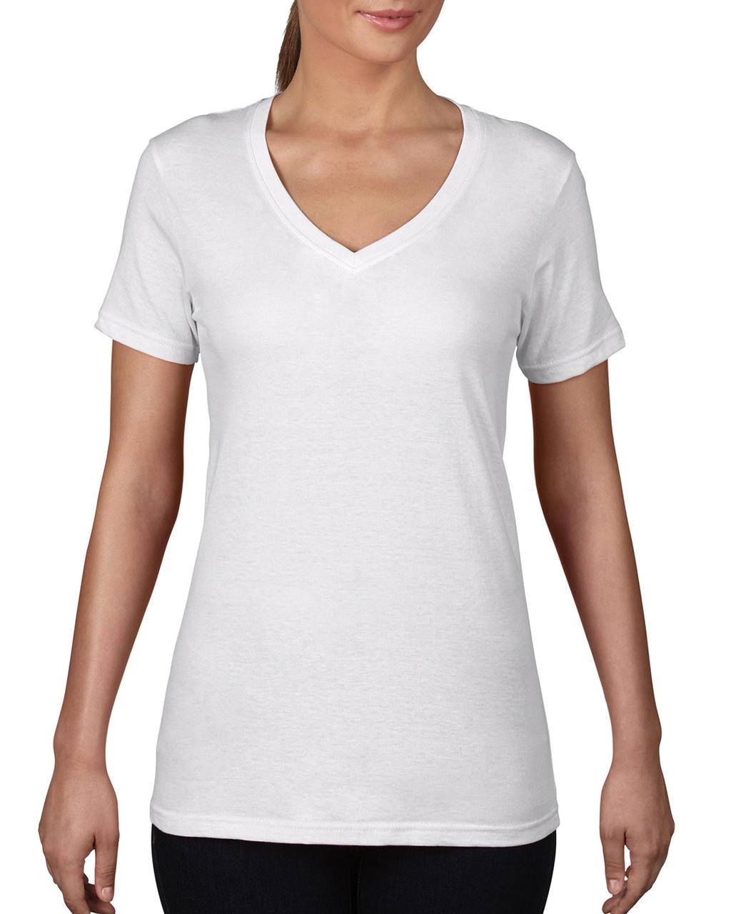 Women`s Featherweight V-Neck Tee