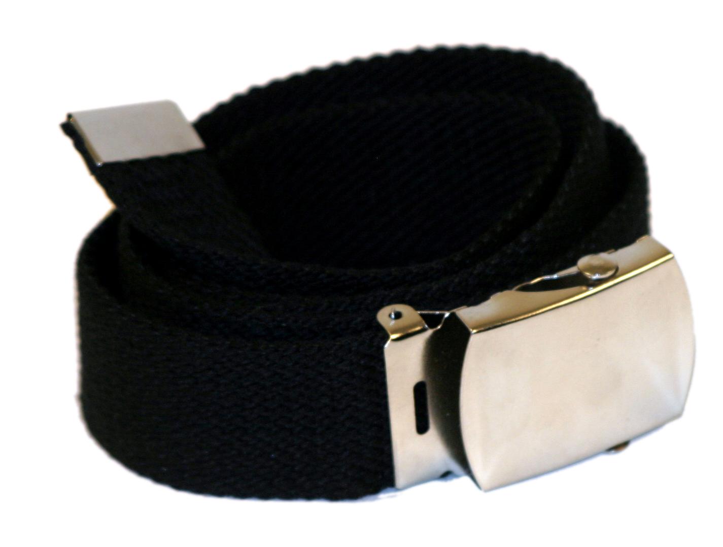 Army belt 35 mm (black)