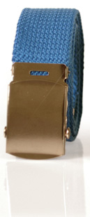 Militärbälte 35 mm (blått)