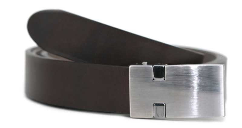 Fashion belt O (brown)