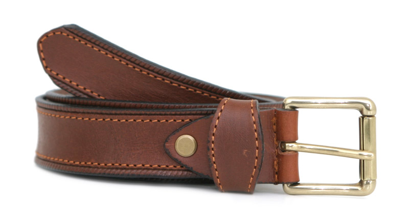 Fashion belt D (brown)