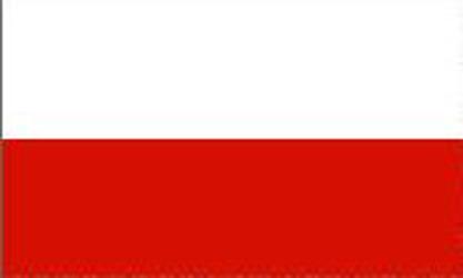 Bordsflagga Polen (stor)