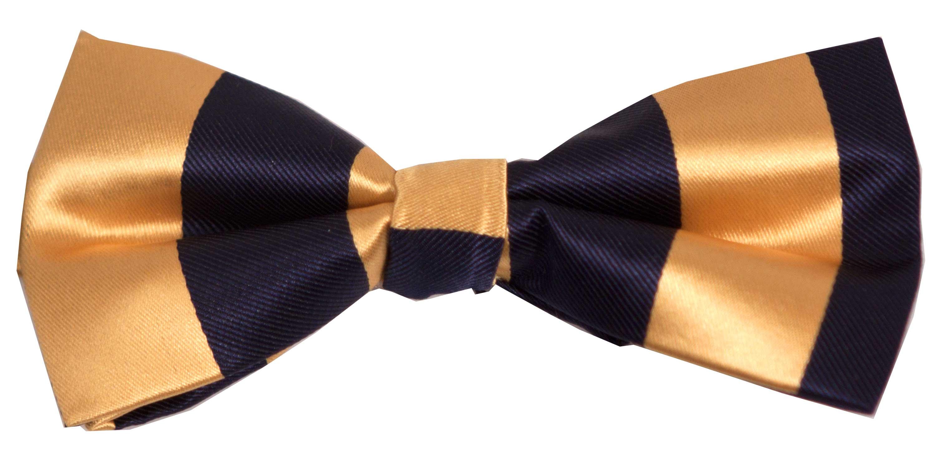 Sløyfe (blå og gul)