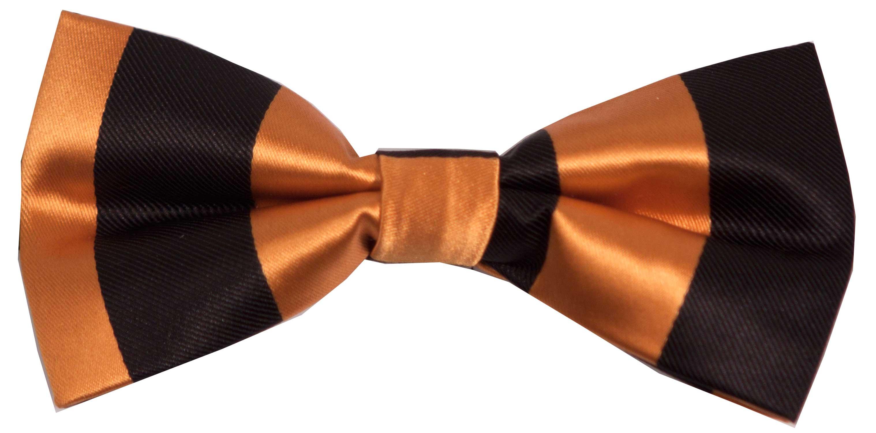Sløyfe (svart og oransje)