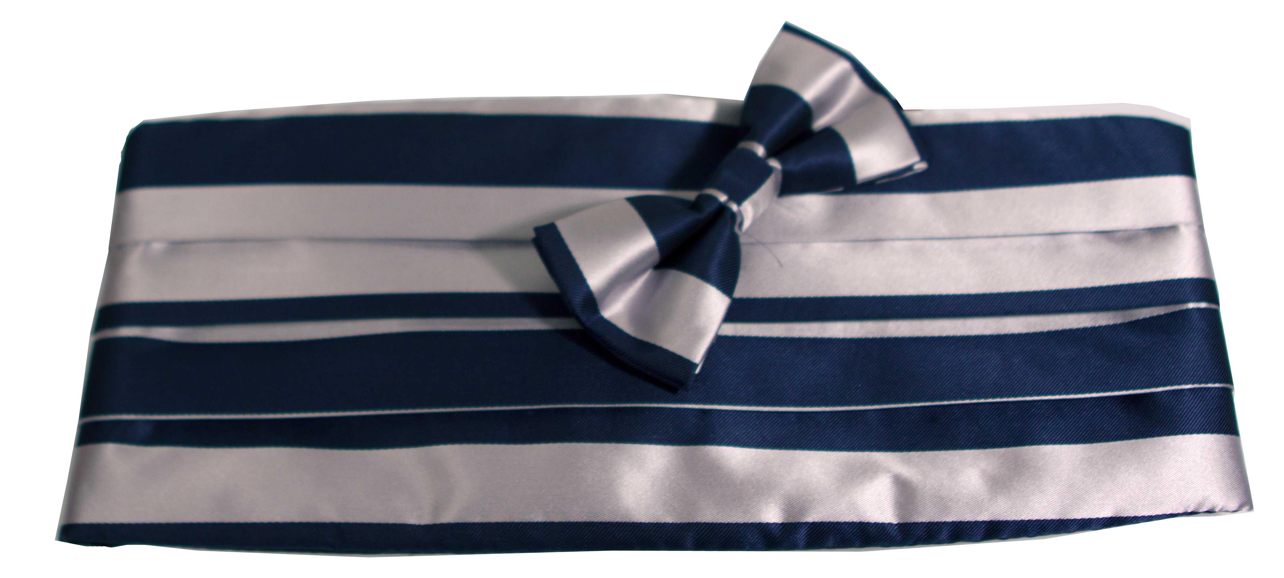 Gördel (blå och grå)