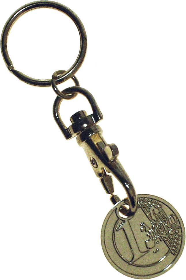Keycoin / handlevognsmynt (Euro)