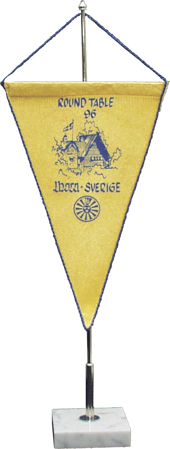 Medium pennant (double silk)