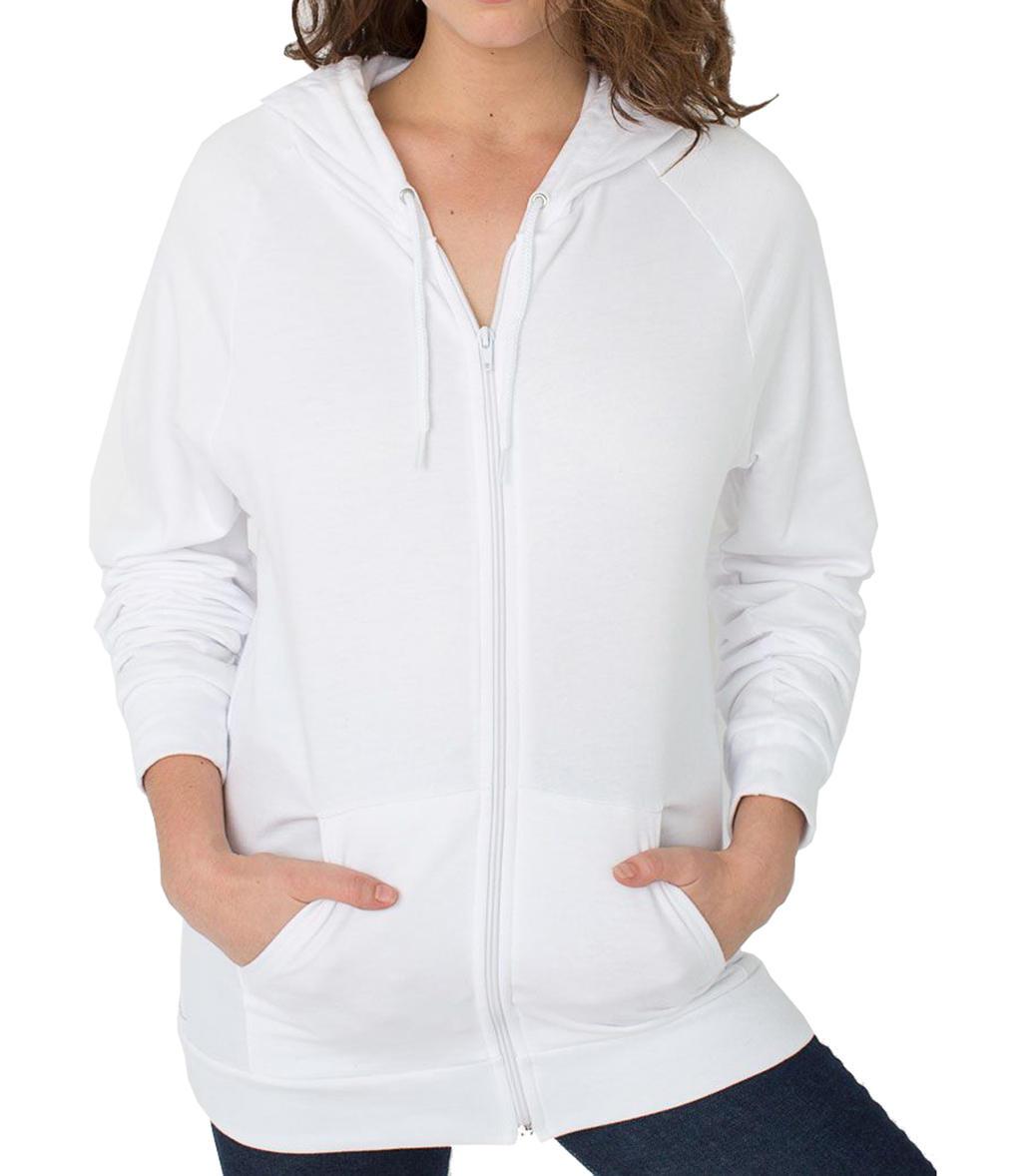 Unisex California Zip Hooded Sweat