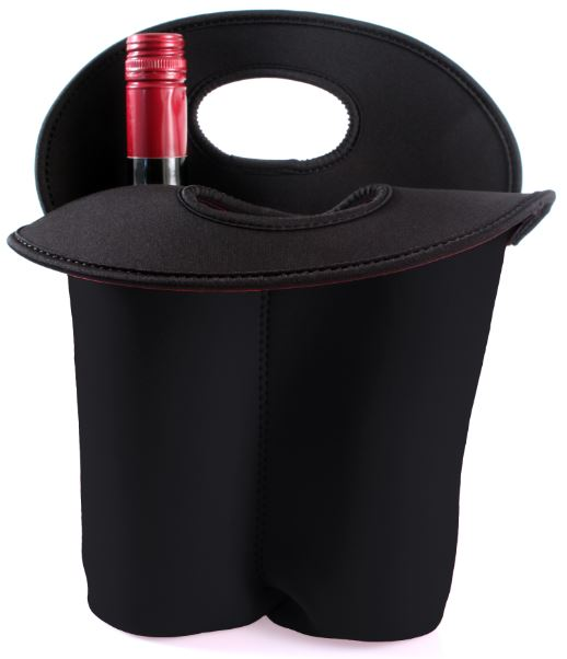 Wine holder in neoprene (2 bottles)