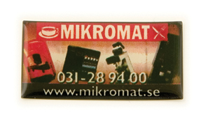 Logotop, Epoxy sticker (60 mm)