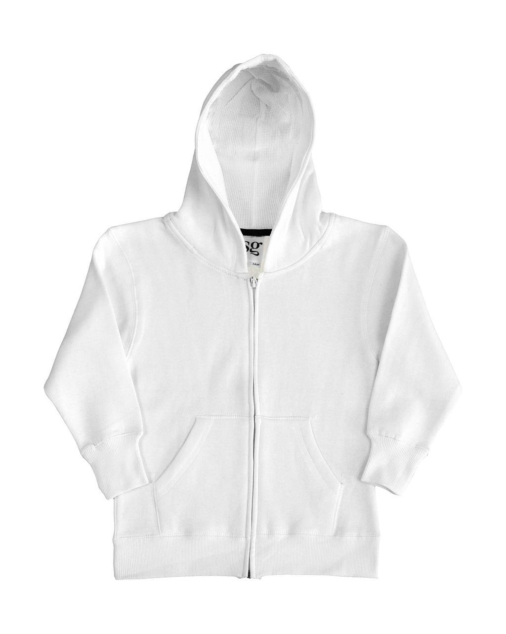 Kids` Heavyweight Full Zip Hoodie