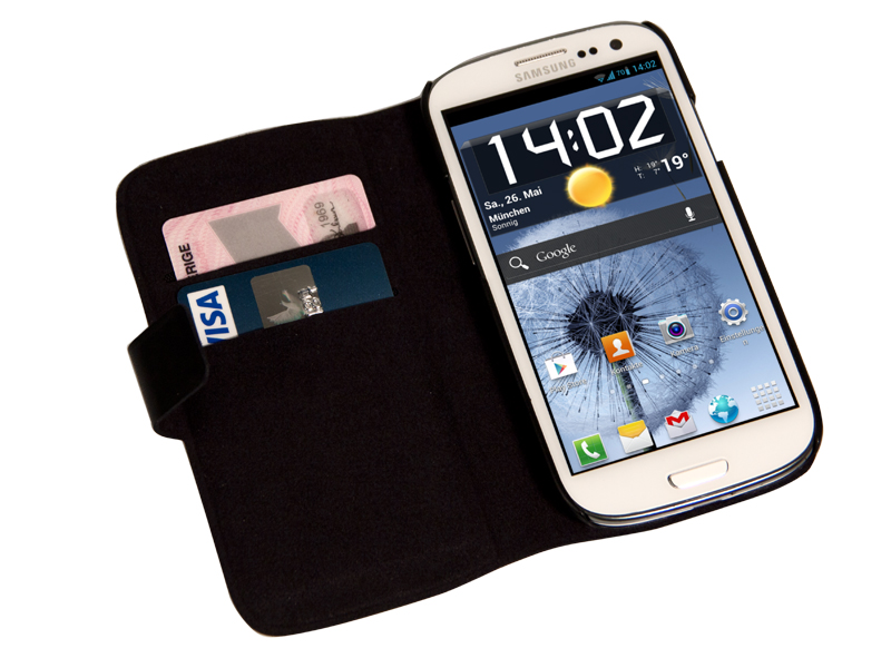 Wallet leather case (Samsung)