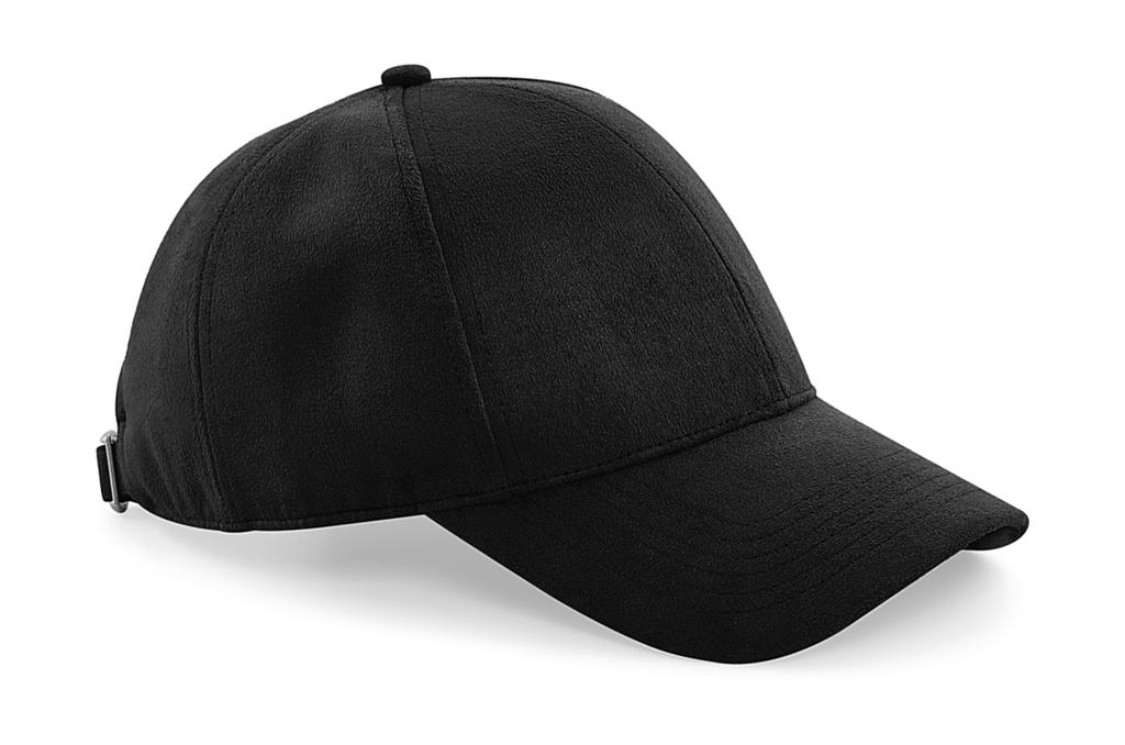 Faux Suede 6 Panel Cap