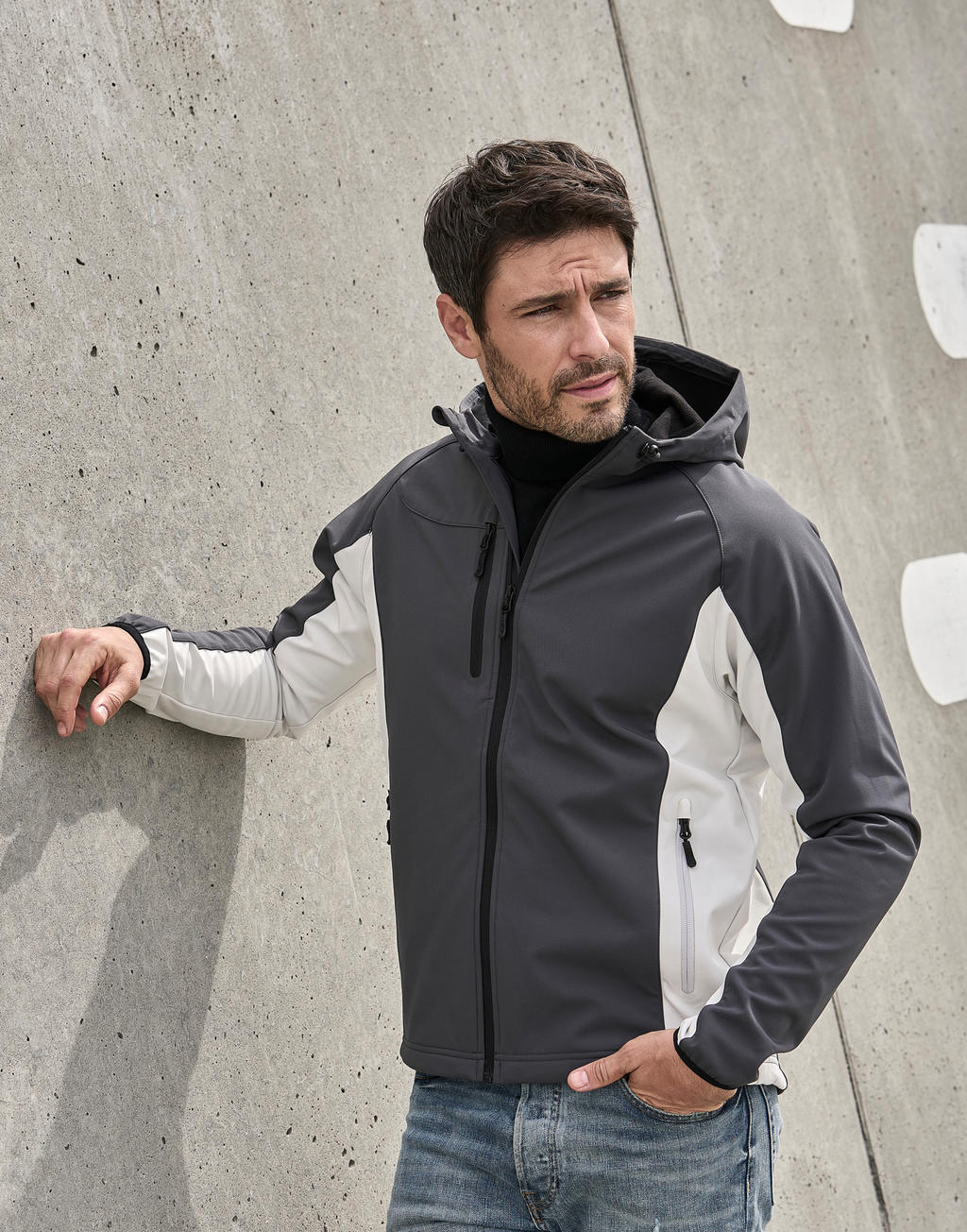 Hooded Lightweight Performance Softshell