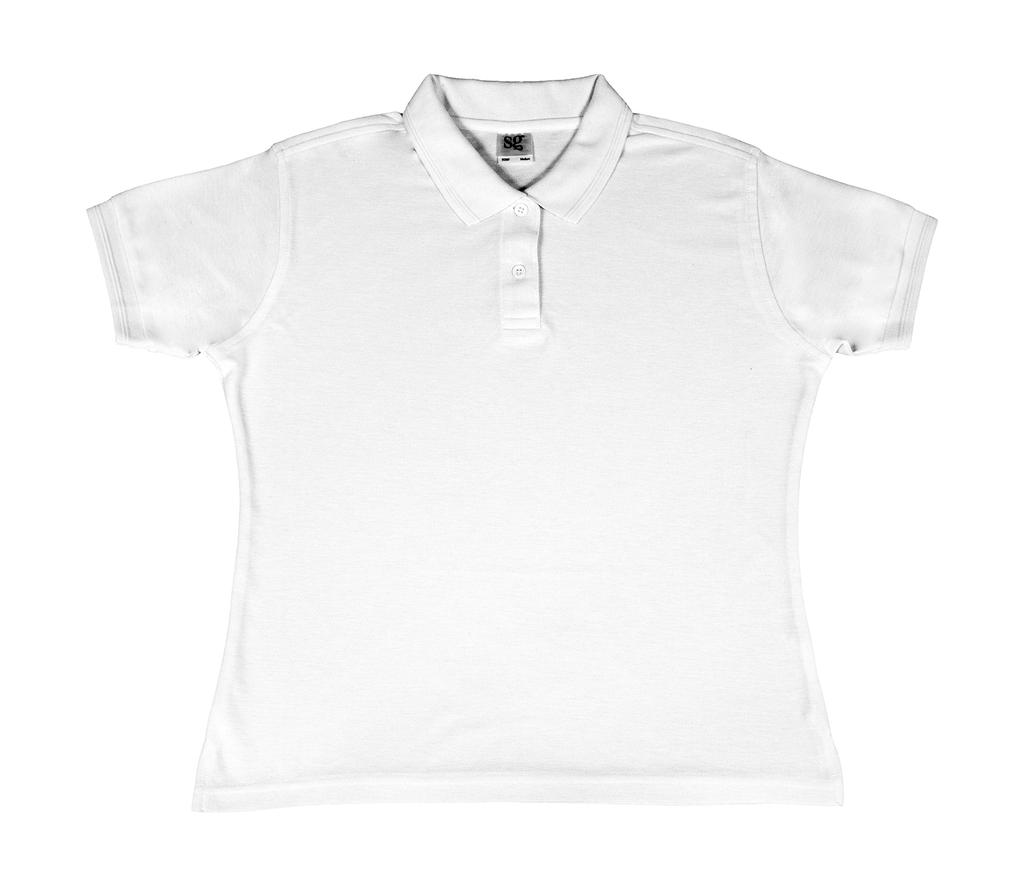 Ladies` Poly Cotton Polo