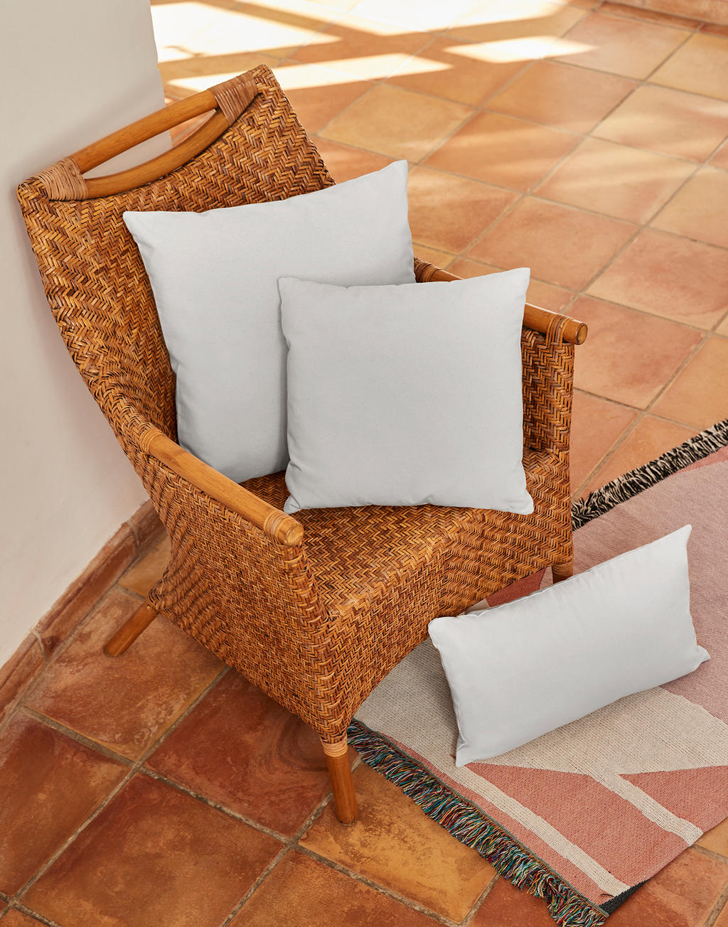 Fairtrade Cotton Canvas Cushion Cover