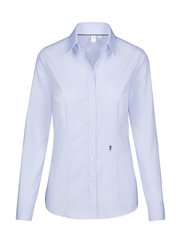 Seidensticker Ladies` Slim Fit Fine Liner Shirt LS