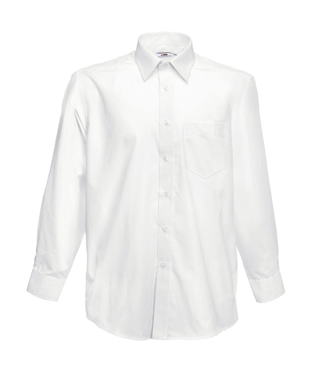 Poplin Shirt Long Sleeve