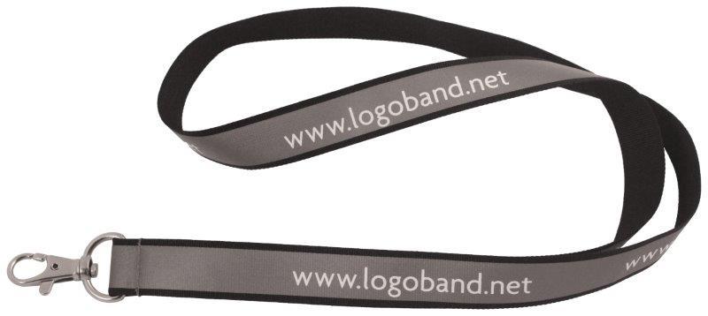 Reflekterande logoband (15 mm) (Specialproduktion)