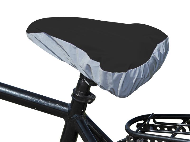 Reflekterende trekkk til sykkelsete