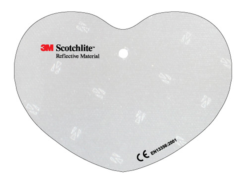 Soft reflector heart (Exclusively produced)
