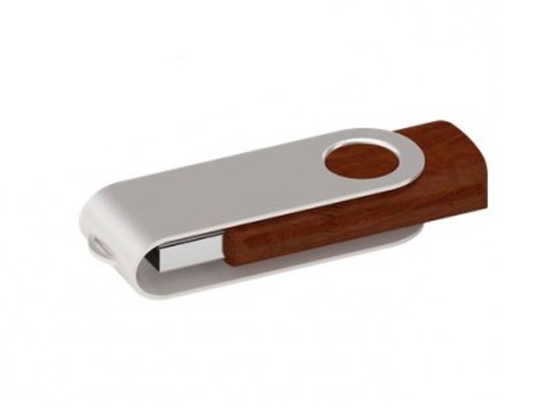 Twister USB 2.0 Wood (Specialproduktion)