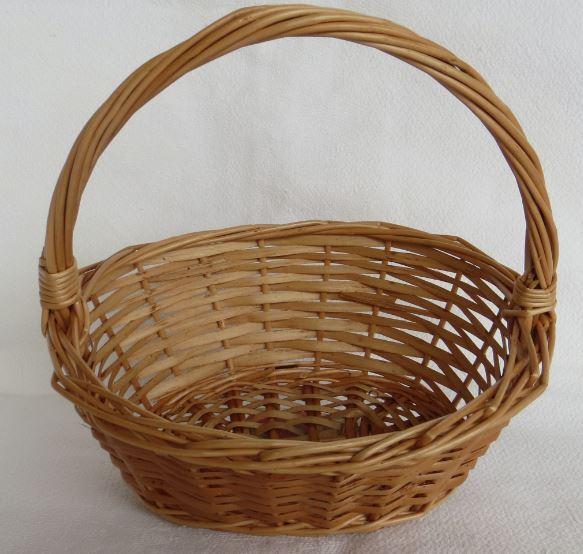 Oval basket Stina