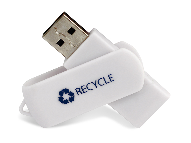 Twister Recycled Plastic USB 2.0 (Specialproduktion)