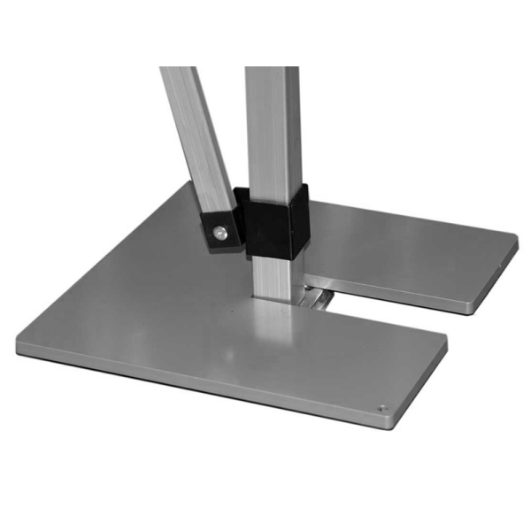 Weight plates for tents
