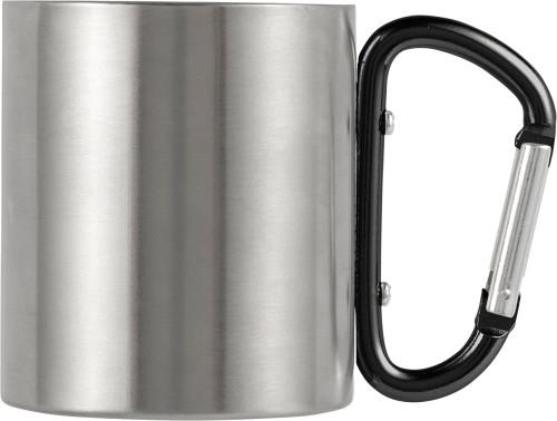 Resemugg i rostfritt stål med dubbla väggar (200 ml)