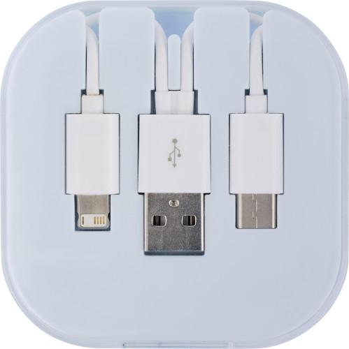 Set med USB-laddningskabel