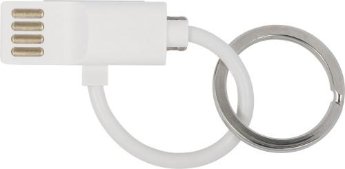 USB-kabel i nyckelring