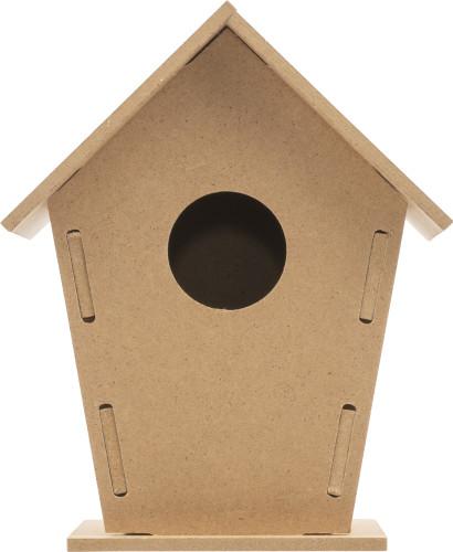 MDF birdhouse kit