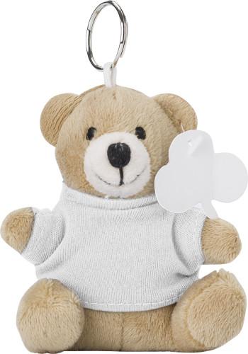 Nyckelring med teddybjörn