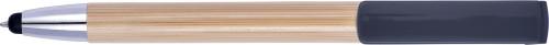 Kulspetspenna i bambu med touch