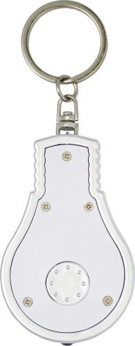 Lampformad nyckelring i ABS