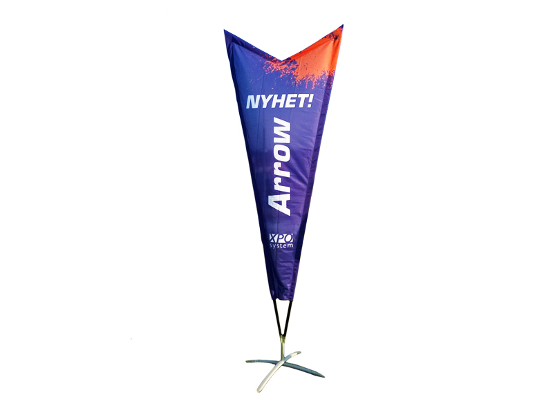 Beachflagga Premium Arrow (L) (Specialproduktion)