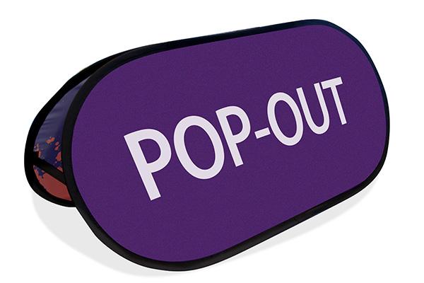 Popout (120x60 cm) (Specialproduktion)