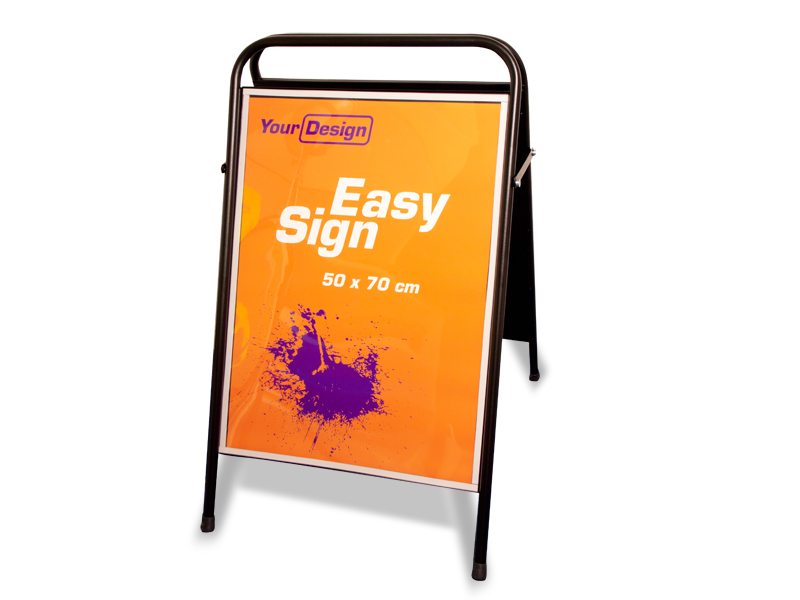 Sign Easy (70 x 100 cm) (Specialproduktion)