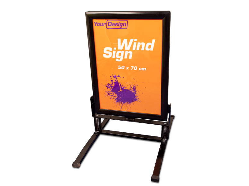 Sign Wind (70 x 100 cm) (Specialproduktion)