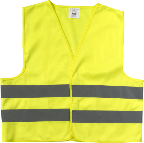 Promotional safety jacket for children.