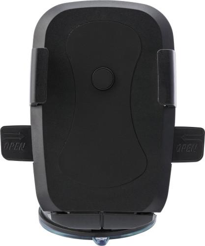 Justerbar mobiltelefonhållare med sugkoppar