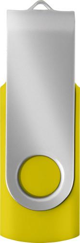 USB-minne (16 GB) med twist-funktion som skyddar uttaget.