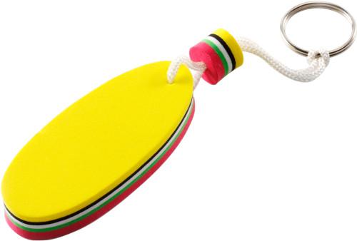 Flytande nyckelring i oval form