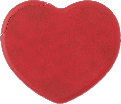 Hjerteformet mintkort