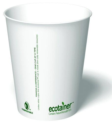 ECO Pappersmugg (Enkelvägg)